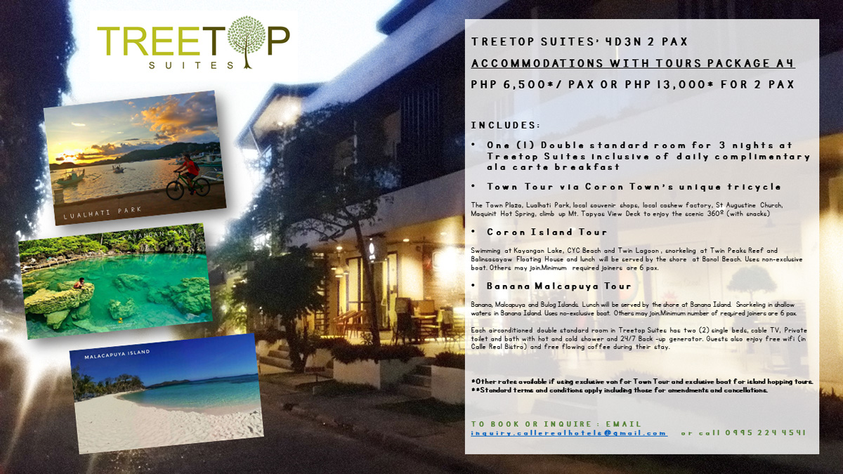 treetop suites tour package a4